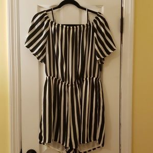 NY&Co Striped Romper